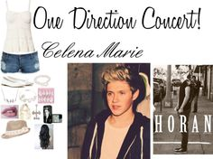 """""""One Direction Concert! Celena Marie"""" by kiara-fleming ❤ liked on Polyvore"""