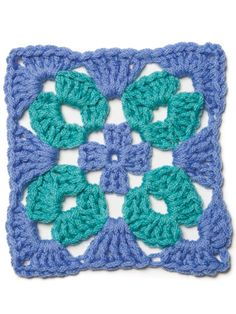 "crochet granny square ideas Examples of crochet patterns found in the ""When Granny Meets Filet"" collection. Crochet Motifs, Granny Square Crochet Pattern, Crochet Squares, Crochet Granny, Crochet Stitches, Crochet Patterns, Granny Squares, Crochet Blocks, Crochet Crafts"