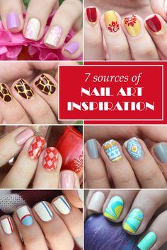7 nail art inspiration sources