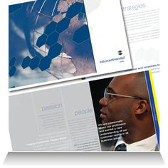 Intercontinental Bank:   Corporate brochure detail.
