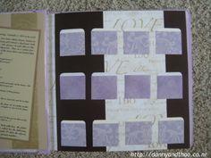 envelope scrapbook guestbook ideas