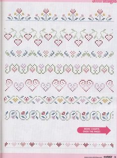 Photo only on blog. Love hearts! borders