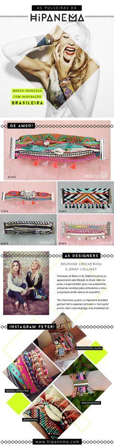 Hipanema bracelets pulseiras - do blogue brasileiro Garotas Estúpidas (Camila Coutinho)