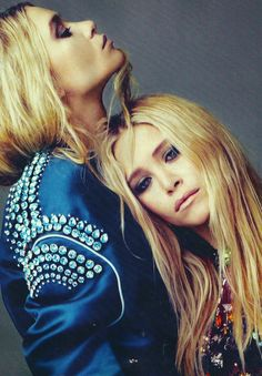 UK ELLE APRIL 2012  Mary-kate and Ashley Olsen by Alexei Hay