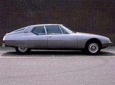 Mid Citoen SM by Maserati. A ride so smooth.via Citroen pneumatic suspension Volkswagen Phaeton, Citroen Ds, Psa Peugeot Citroen, Maserati, My Dream Car, Dream Cars, Car Side View, Automotive Design, Car Car