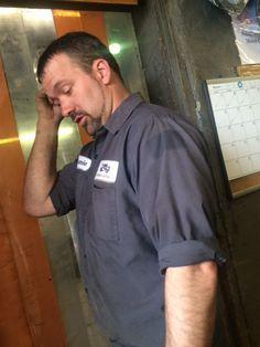 Uncle Jamie at work