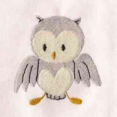 Free Embroidery Design: Owl