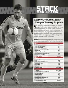 Danny O'Rourke Soccer Strength Workout - STACK