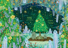Xmas, Christmas, Fairy Tales, Whimsical, Kawaii, Seasons, Cute, Projects, Cards