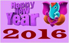 Stylish Happy New Year 2016 HD Wallpapers