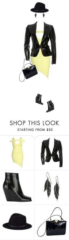 """""""City Doll"""" by indigo-summer ❤ liked on Polyvore featuring Boohoo, Gucci, Rick Owens, Marc Jacobs, Sunday Afternoons and Valentino"""