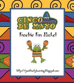 Here's a freebie packet filled with fun literacy and math activities celebrating Cinco de Mayo! Activities include: Making Words, vocabulary cards ...