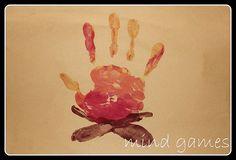 campfire handprint craft - Google Search