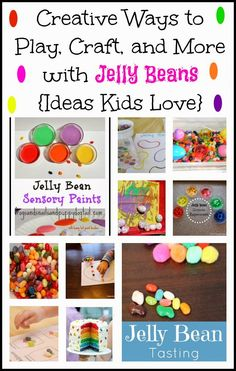 Creative Ways to Play, Craft, and More with Jelly Beans {Ideas Kids Love} by FSPDT