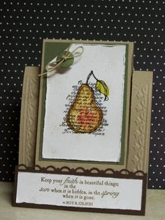 Faith in Nature - Stampin Up