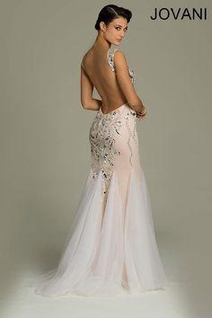 Jovani 78396 // art deco great gatsby wedding dress