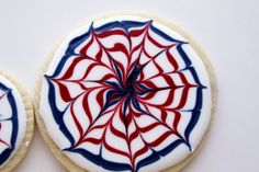 Easy Fourth of July Cookies | 4th of July Cookies