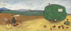 Coming soon at Wold Galleries A NEW LIMITED EDITION - Off to Find Another Chicken by Sam Toft