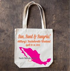 #Bachelorette and #wedding welcome totes are great little gifts to set off or commemorate a fun weekend!