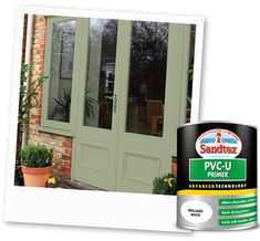 Search Results Upvc Painting Upvc Windows, Painted Upvc Door, Upvc Porches, House Front Door, Front Doors, Garage Doors, Exterior Paint Colors, Paint Colours, Interior Desing