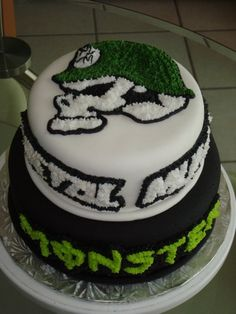 Metal Mulisha and Monster (Energy Drink) By nandi28 on CakeCentral.com