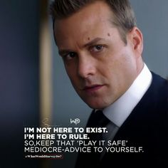 Don't let anyone belittle your ambitions. Just cause they can't doesn't mean you also won't. Screw the mediocre advice! . . . #whatwouldharveydo #harveyspecter #motivationalquotes #gabrielmacht #life #imheretorule #risks #playthegame #hustlehard #unbreakable #wwhd