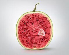 Hero ziplock: Watermelon | Ads of the World™