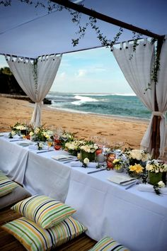 Bali Venue Review: Uniquely Nikko   A maze of pathways lead to terraced gardens, ornate temples, ocean front restaurants and an atmospheric amphitheatre tucked into the rocks…   Click the image to visit our website for more great Bali style inspiration!