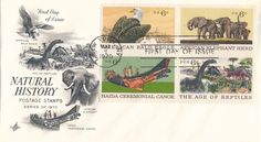 Fauna 1990 Fdc Canada Block Plate Imaginary Creatures First Day Cover Stamps Animal Kingdom
