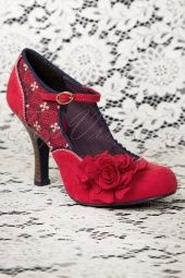 Ruby Shoo Ashley shoes in red 402 20 13252 20140726 0004W