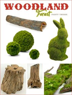 Woodland+Forest+Party+Theme+–+Part+1+{Woodsy+Elements+&+Toadstools}