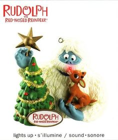 Carlton Cards Heirloom Rudolph the Red-Nosed Reindeer Bumble Ornament with Sound Reindeer Lights, Reindeer Decorations, Reindeer Ornaments, Hallmark Ornaments, Christmas Ornaments, Halloween Ornaments, Christmas To Do List, Christmas Signs, Kids Christmas