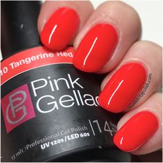 Tangerine Red from Candy Couture by Pink Gellac | Model City Polish