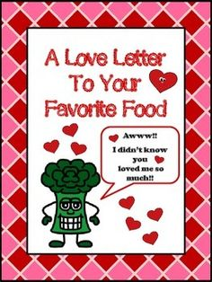 Love Letter To Your Favorite Food (Valentine's Day)