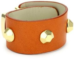 Lalucca and i Orange Cuff Bracelet Lalucca. $85.00. Made in DO