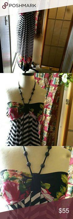 🎉Saint Tropez west dress Long adorable dress Saint Tropez West Dresses Maxi