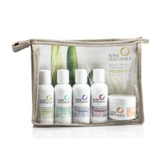 Nine Naturals Pregnancy Travel Gift Set - Gift Sets - Products Newly Pregnant, Getting Pregnant, Pregnancy Must Haves, Pregnancy Travel, Pregnancy Tips, Breastmilk Storage Bags, Beauty Care, Breastfeeding, Bath And Body