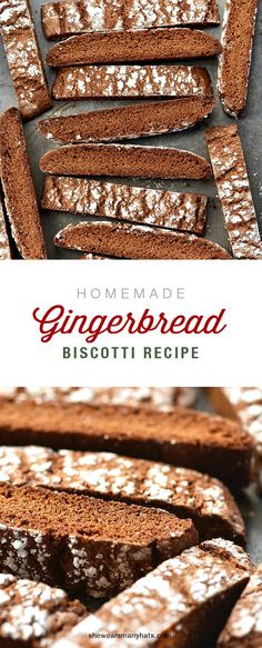 Delicious Homemade Ginger Biscotti Recipe is perfect for tea and coffee time. Delicious Homemade Ginger Biscotti Recipe is perfect for tea and coffee time. Ginger Biscotti Recipe, Gingerbread Biscotti Recipe, Biscotti Cookies, Gingerbread Recipes, Almond Cookies, Chocolate Cookies, Gingerbread Cookies, Christmas Biscotti Recipe, Lemon Biscotti