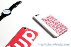 シュプリーム supreme iphone8/7S/7plus/6S ケース