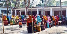 শুরু হলো দ্বিতীয় ধাপে ৬৩৯ ইউপিতে ভোটগ্রহণ | Dhakar Khobor