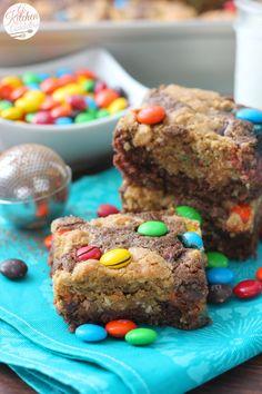 Monster Cookie Brownies Recipe