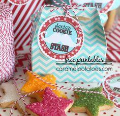 Santa's Cookie Stash