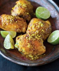 Turmeric chicken with sumac and lime from The New Persian Kitchen by Louisa Shafia