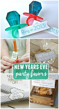 DIY New Years Eve party favors. Cute and cheap! DIY New Years Eve feestartikelen. New Years With Kids, Kids New Years Eve, Wedding Ideas New Years Eve, New Years Eve Party Ideas For Family, New Year's Eve Celebrations, New Year Celebration, Nye Party, Party Time, Sylvester Party