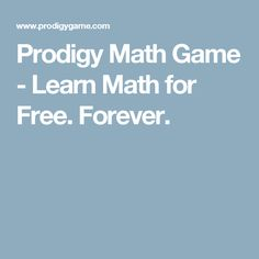 prodigy | Prodigy Math Game - Learn Math for Free. Forever.