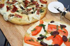 ..: Flatbread Margarita Pizza