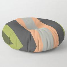 una de rayas Floor Pillow