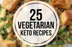 We get asked a lot about vegetarian keto recipes, so we decided to create this roundup of recipes to get you started.  These recipes are all meatless, but do make use of eggs and dairy products.  I tried to create a good mix of recipes so there are some that could serve as mains, some …