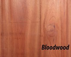 Bloodwood Hardwood S2S1E - Total Wood Store
