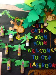 KFUNdamentals: TBT: Chicka Chicka Boom-Boom, Welcome To Our Classroom